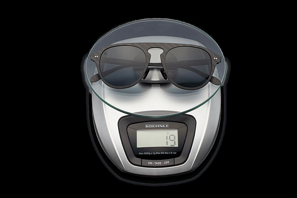 gafas de sol graduadas de fibra de carbono