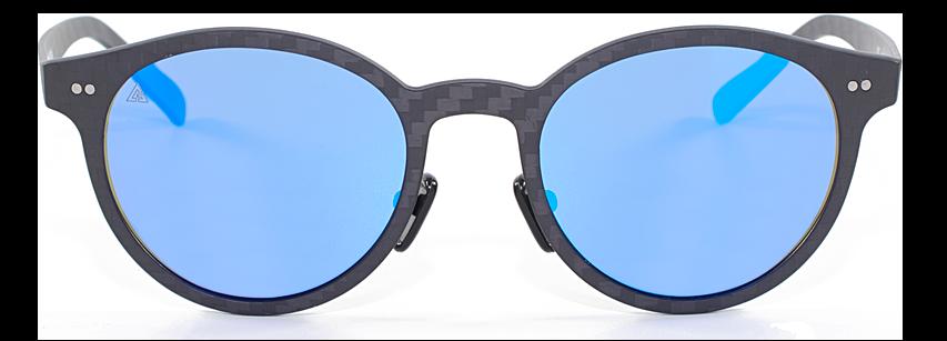 comprar gafas de sol redondas de fibra de carbono