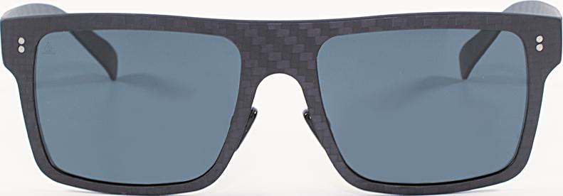 gafas de sol cuadradas fibra de carbono azules