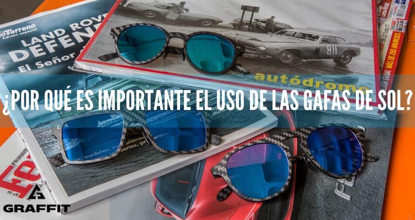 importancia de las gafas de sol