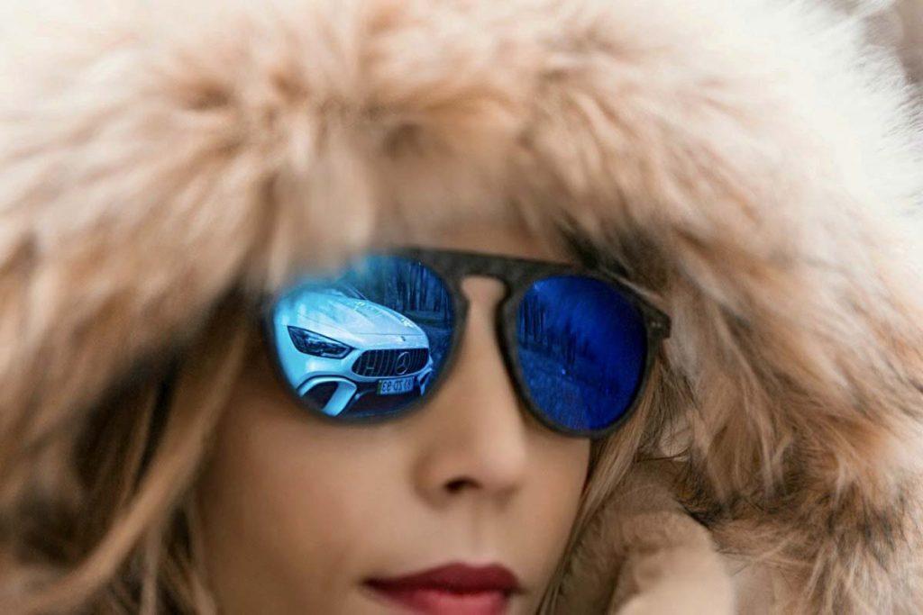 gafas de sol de fibra de carbono