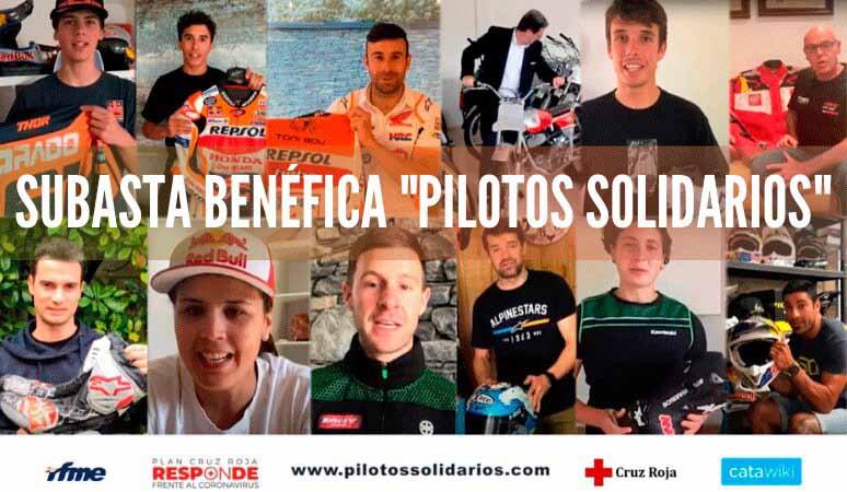 subasta benéfica pilotos solidarios
