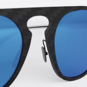 Graffit - Aviator Mirror Blue - Gafas de sol de fibra de carbono