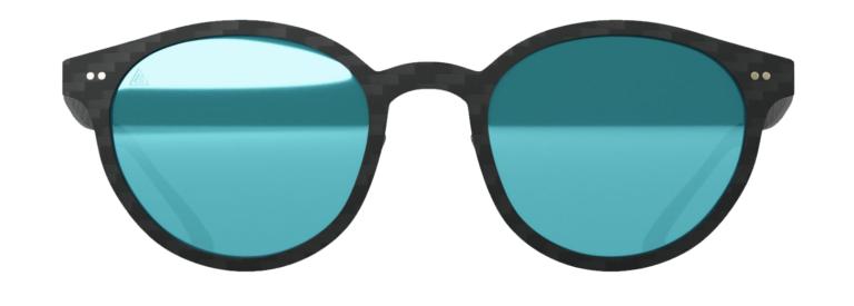 Gafas de sol Graffit Selfie Ice Blue. Fibra de carbono, cristales polarizados, filtro UV-400.