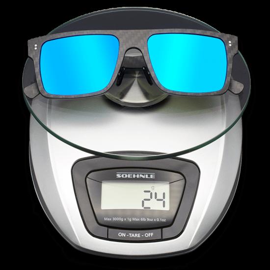 fibra de carbono gafas